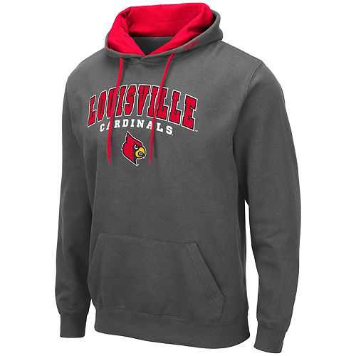Men's NCAA Louisville Cardinals Pullover Hooded Fleece
