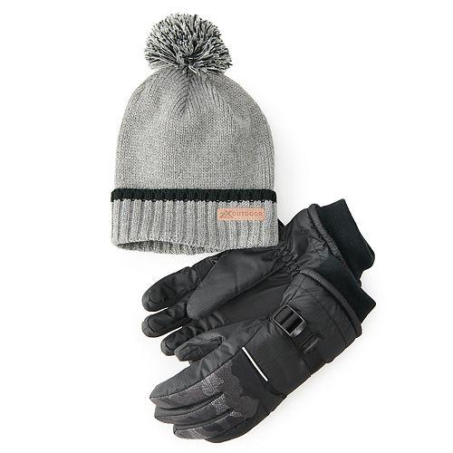 Boys 4-20 ZeroXposur Beanie Hat & Gloves Set