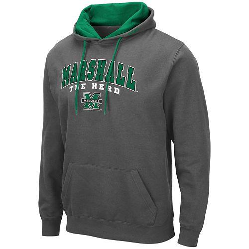 Men's NCAA Marshall University Pullover Hooded Fleece