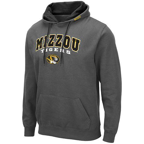 Men's NCAA Missouri Tigers Pullover Hooded Fleece