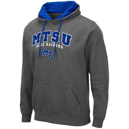 Men's NCAA MTSU Blue Raiders Pullover Hooded Fleece