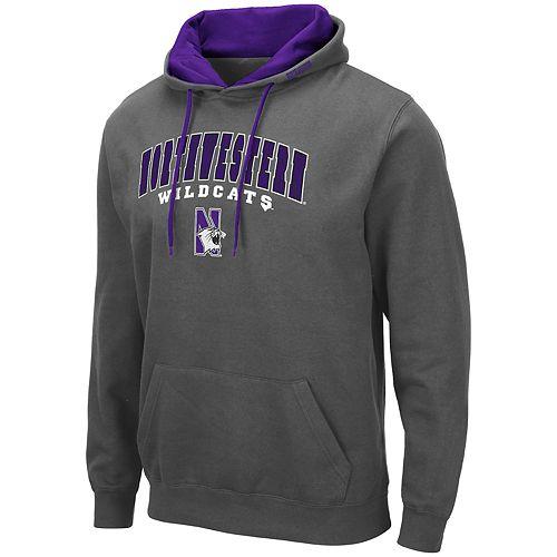 Men's NCAA Northwestern Wildcats Pullover Hooded Fleece
