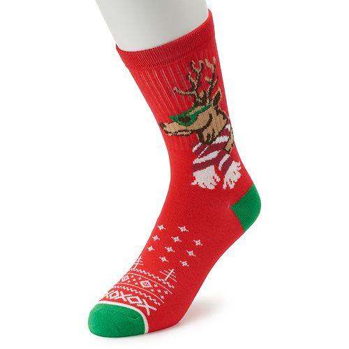 Men's Christmas Crew Socks