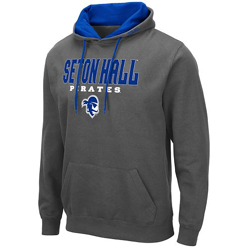 Men's NCAA Seton Hall Pirates Pullover Hooded Fleece