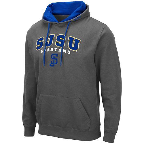 Men's NCAA SJSU Spartans Pullover Hooded Fleece