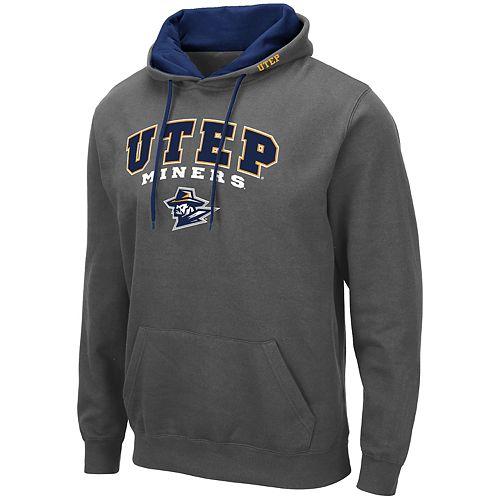 Men's NCAA UTEP Pullover Hooded Fleece