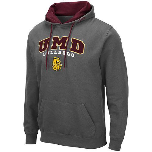 Men's NCAA UMD Bulldogs Pullover Hooded Fleece