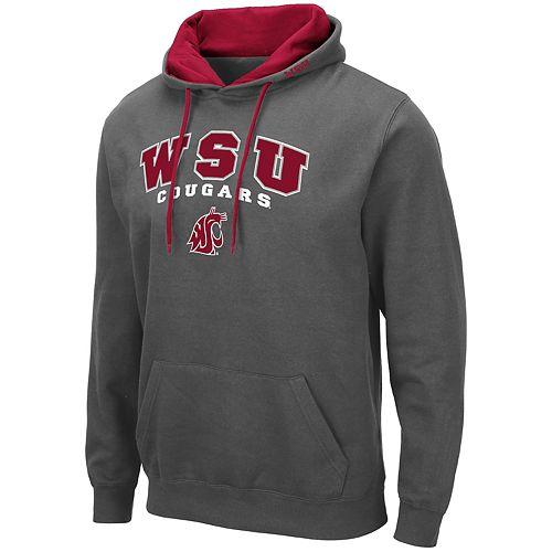 Men's NCAA WSU Pullover Hooded Fleece