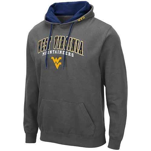 Men's NCAA West Virginia Pullover Hooded Fleece