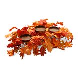 National Tree Company Maple Leaf Candleholder