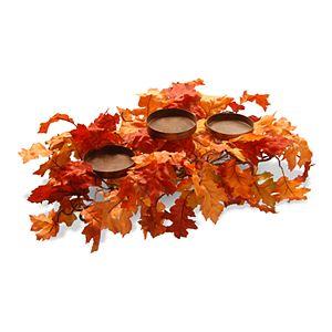 National Tree Company Maple Leaf Candleholder