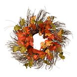 National Tree Company Maple Leaves Wreath