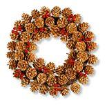 National Tree Company Glittered Pinecone Wreath