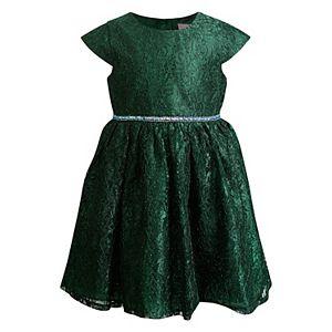 Girls 4-6x Youngland Rhinestone Lace Dress