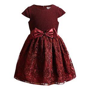 Girls 4-6x Youngland Glittery Lace Dress