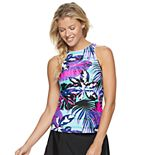 Women's ZeroXposur High Neck Tankini Top
