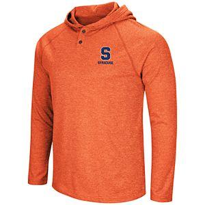 Men's NCAA Syracuse Orange Hooded Henley Tee