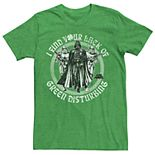 Men's Star Wars Darth Vader Lack Of Luck Graphic Tee