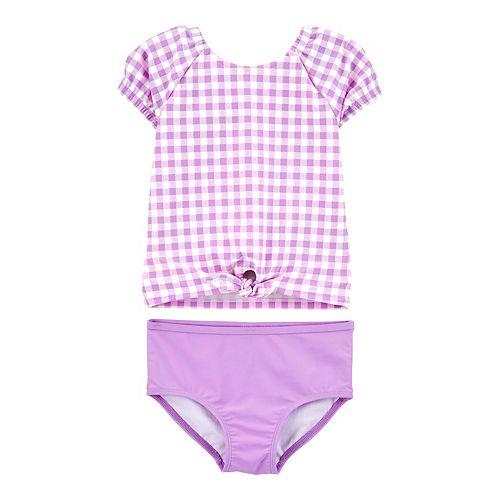 Carters Baby Girls 2 Piece Rashguard Swim Set