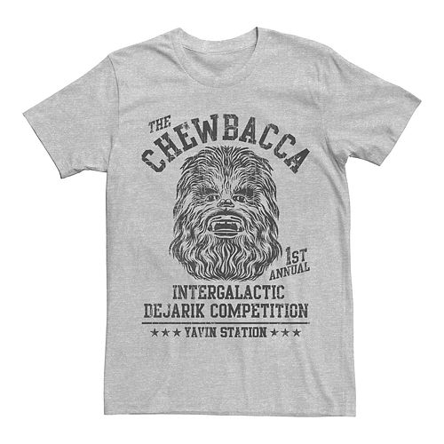 Star Wars Chewbacca Loyalty Mens Graphic T Shirt
