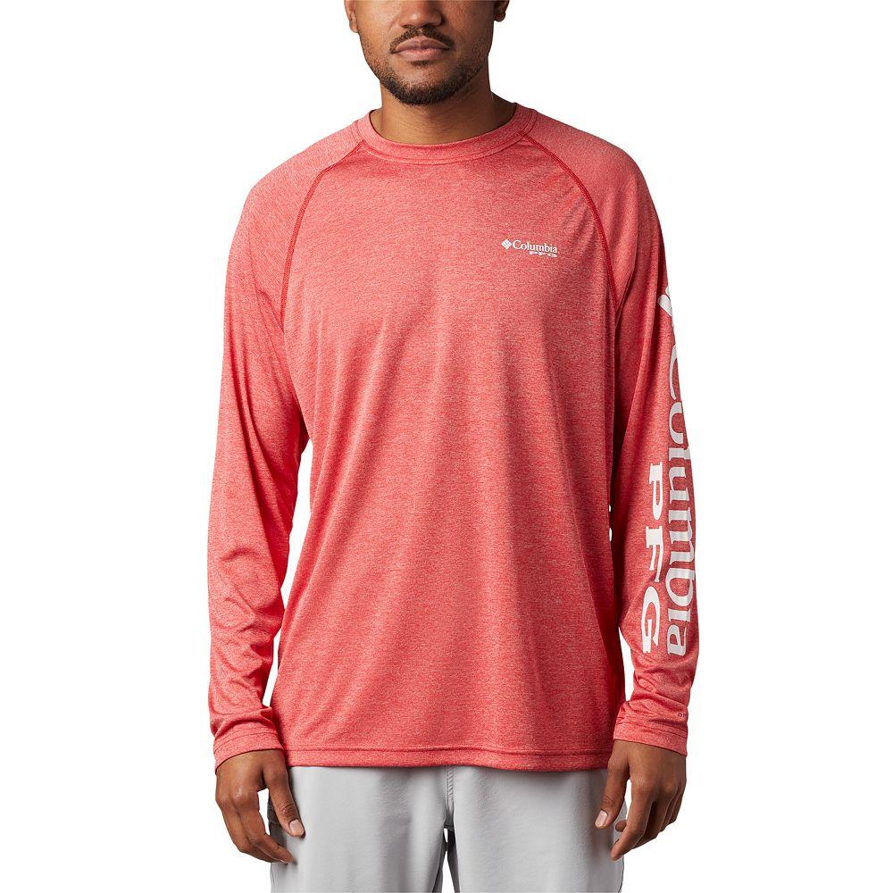 Men's Columbia PFG Terminal Tackle™ Heather Long Sleeve Shirt