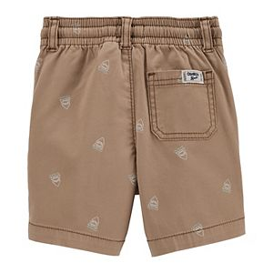 Toddler Boy Oshkosh B'gosh® Shark Print Pull-On Shorts
