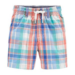 Toddler Boy Oshkosh B'gosh® Plaid Pull-On Shorts