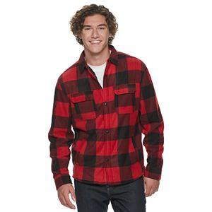 Men's Urban Pipeline? Sherpa Lined Polar Fleece Shirt Jacket