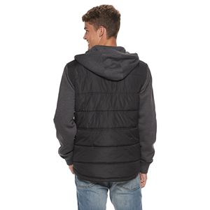 Men's Urban Pipeline Quilted Microfiber Fleece Jacket