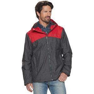 Men's Columbia Ridge Gates Omni-Tech Waterproof Hooded Rain Jacket