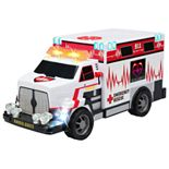 Kid Galaxy City Worker Ambulance Truck Vehicle Featuring Lights and Sounds