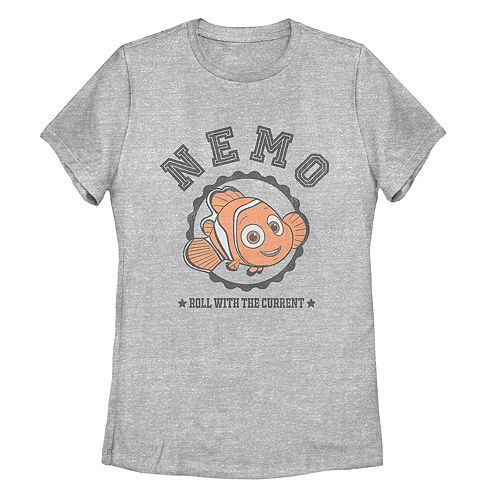 Juniors' Finding Dory Nemo Roll With It Tee