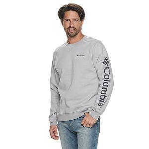 Men's Columbia Omni-Shade Logo Fleece Crewneck Pullover