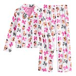 Girls 6-12 JoJo Siwa Top & Bottom Pajama Set