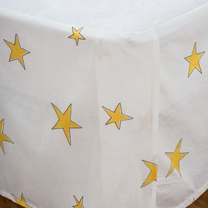 Punk Rock Animal Star Rizzy Bed Skirt