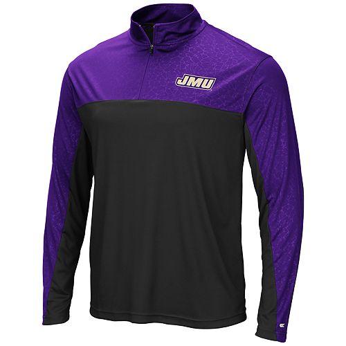 quality design 56c56 9b14f Mens NCAA James Madison Dukes Mens Sentinel 1/4 Zip ...