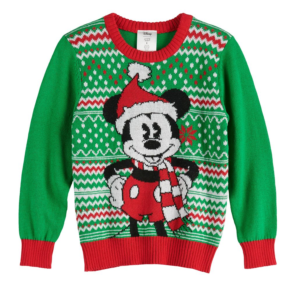 Disney's Mickey Mouse Boys 4-12 Holiday Sweater by Jumping Beans®