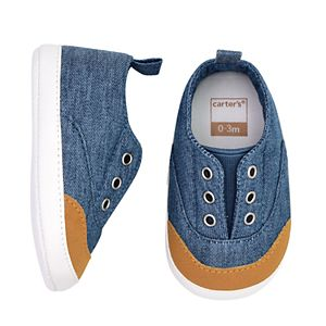 Baby Boy Carter's Slip On Sneaker Crib Shoes