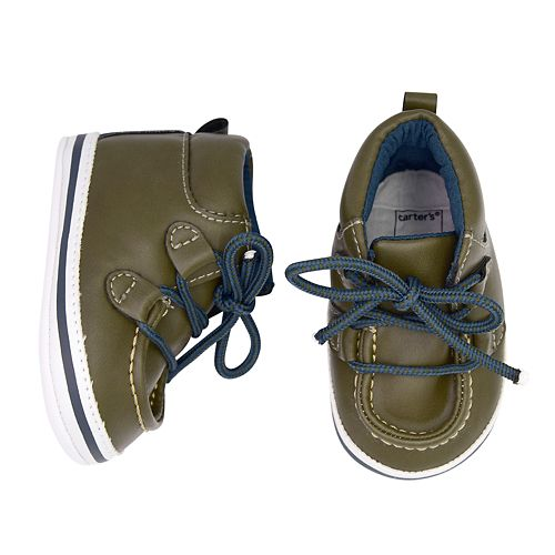 Baby Boy Carter's Boot Crib Shoes