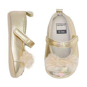 Baby Girl Carter's Maryjane Crib Shoes