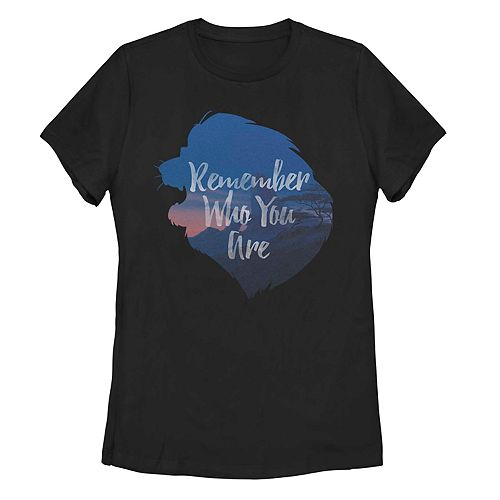 "Juniors' Disney's Lion King ""Remember Who You Are"" Tee"