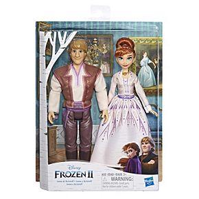 Disney's Frozen 2 Anna and Kristoff Fashion Dolls