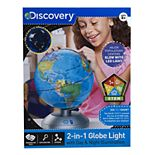 Discovery #Mindblown 2-in-1 Globe Light with Day & Night Illumination