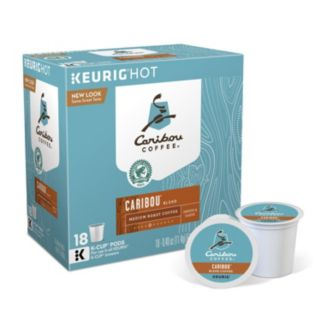 Keurig® K-Cup® Pod Caribou Coffee Blend Medium Roast Coffee - 18-pk.