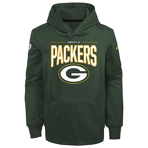 the best attitude 907d2 6fe61 Boys 8-20 NFL Green Bay Packers Therma Hoodie Pullover