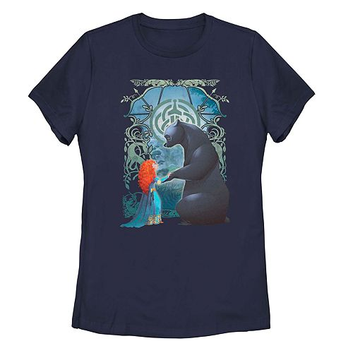 Juniors' Disney's Brave Merida Bear Tee
