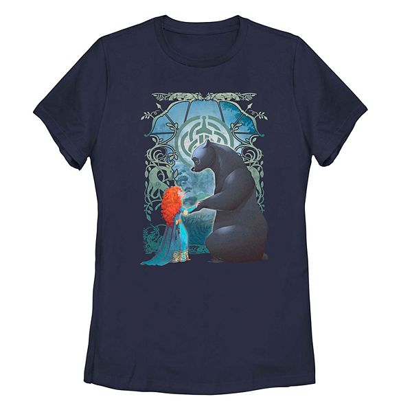 Juniors' Disney's Brave Merida Bear Tee oaw08