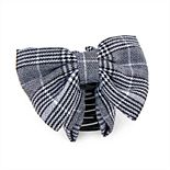 Statement Bow Plaid Hair Clip