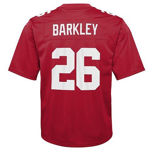 best service acd01 7d29e Boys 8-20 New York Giants Saquon Barkley Inverted Color ...