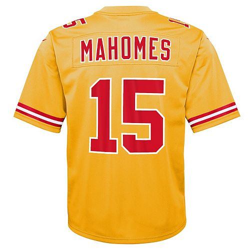 the best attitude 38992 bbf32 Boys 8-20 Nike Kansas City Chiefs Patrick Mahomes Inverted Color Jersey